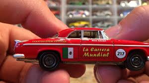 johnny lightning chrysler 300 mexico rally car youtube