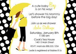 s shower invitations yellow and white baby shower invitations cloveranddot