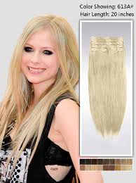 vpfashion hair extensions 24 inch clip in hair extensions 135g uss613a24