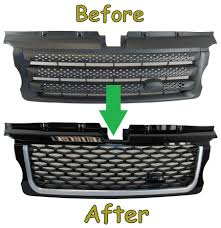 range rover pickup conversion range rover sport grille side vent autobiography conversion kit