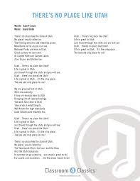 Utah this is the place state song cd vocal and accompaniment
