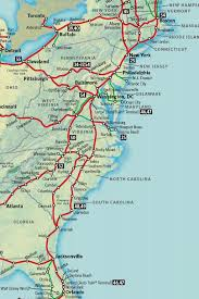Map Of The East Coast Of The United States by East Coast Of The United States Free Map Blank With Map Of The