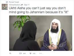 Aisha Meme - muslim teens have made this islamic scholar into a gigantic meme