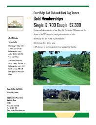black friday golf bag deals deer ridge golf club u2013 bellville oh
