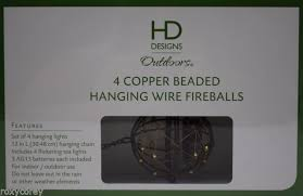 battery powered hanging l hd design outdoors 4 battery operated copper beaded hanging wire