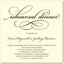 rehearsal dinner invite signature ecru rehearsal dinner invitations timeless calligraphy