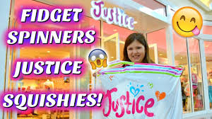 justice at the mall justice squishies fidget spinners shopping mall vlog sedona