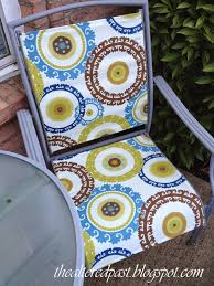 Ideas For Painting Garden Furniture by Replacing The Fabric On Sling Chairs House Ideas Pinterest
