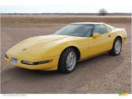 1991 corvette colors 1991 yellow chevrolet corvette coupe 88284171 gtcarlot com
