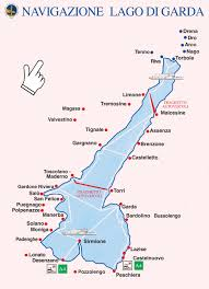 Northern Italy Map by Lake Garda Ferry Map Take Train From Vicenza To Peschiera Can