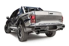 Ford Raptor Chase Truck - 2017 ford raptor vengeance rear rear bumper with sensors