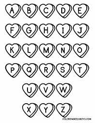 alphabet coloring pages with pictures archives and alphabet