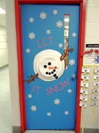 snowman door decorations second grade smiles penguins and a snowman