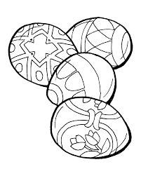 4 impactful easter eggs coloring pages ngbasic com