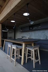 cuisine exterieure beton cuisine exterieure beton with industriel cuisine décoration de la