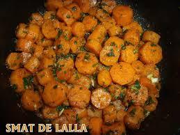 cuisiner des carottes en rondelles carotte a la charmoula smat de lalla