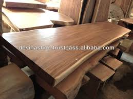 Slab Dining Table by Natural Acacia Wood Slab Dining Tables Natural Acacia Wood Slab