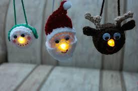light ornament family free crochet pattern crochet ornaments