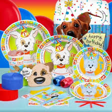 puppy party supplies i puppies party pack 2 only bubbles and rainbows party