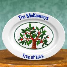 personalized family platters grandparentsday family tree of personalized keepsake platters