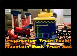 Imaginarium Mountain Rock Train Table Imaginarium Train Table Mountain Rock Train Set Wooden Trains