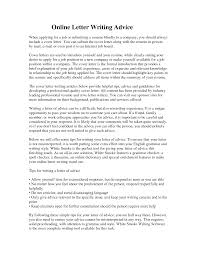 how to send a cover letter in email resume cover letter online template
