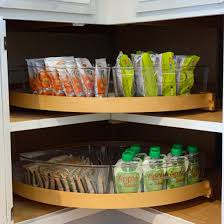 how to organize a lazy susan cabinet an organized lazy susan style dwell