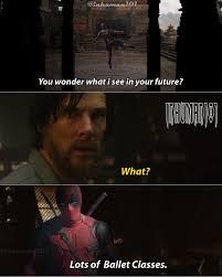 Deadpool Funny Memes - deadpool x doctor strange funny meme by inhuman101 on deviantart