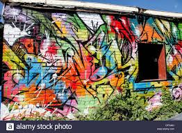 kensington market mural stock photos kensington market mural graffiti and wall art as decoration and art deco on outdoor wall in toronto ontario