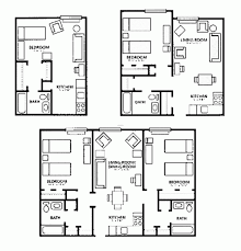 Narrow Apartment Floor Plans by Apartments Floor Plans Design Apartments Floor Plans Design Modern