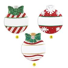 personalized ornaments callisters