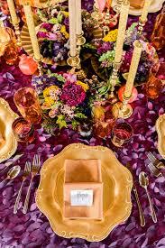 purple and orange wedding ideas colorful persian wedding ideas ruffled
