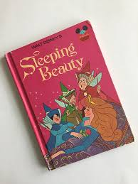1974 walt disney u0027s sleeping beauty book club edition
