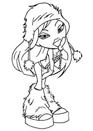 monster dolls coloring pages monster doll kids fun