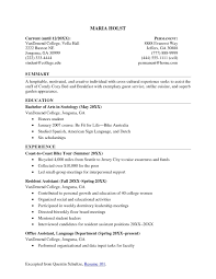 college resume template resume exles 2018 college student listmachinepro