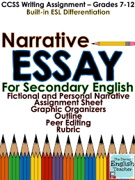 Personal Narrative Essay Examples For Middle School Taos