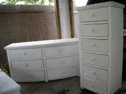 Chest Of Drawers With Wicker Drawers Decorating Ideas White Wicker Bedroom Furniture 25 Best Wicker