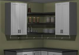 kitchen corner furniture what s the right type of wall corner cabinet for my kitchen
