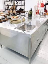 Kitchen Islands Stainless Steel All In One Kitchen Island Cococozy