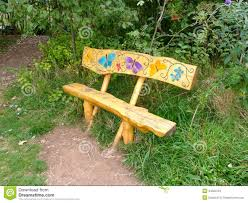 butterfly bench stock photo image 44500123