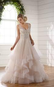 australia wedding dress essense of australia wedding dress style d2259 blush bridal
