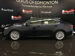lexus es sedan 2017 pre owned 2017 lexus es 350 tour of alberta 4 door car in edmonton