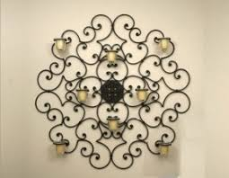 Faux Wrought Iron Wall Decor Iron Wall Art Decor Foter