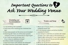 what is a wedding venue questions to ask a wedding venue woodlands