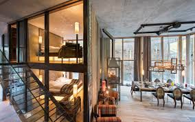 luxury ski chalet backstage loft zermatt switzerland photo12528