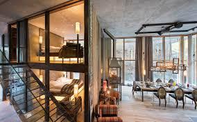 primitive home decor cheap luxury ski chalet backstage loft zermatt switzerland photo12528