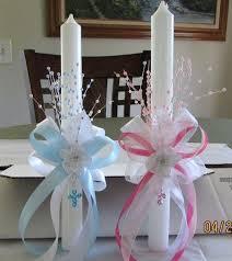 communion centerpiece ideas baptism candle centerpieces communion centerpiece by on