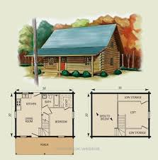 cottage floor plans with loft cabin floor plans with loft hideaway log home and log cabin