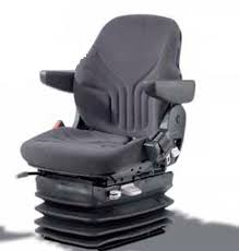 siege grammer forklift truck seat for construction equipment with suspension