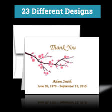 sympathy thank you cards sympathy thank you card products printpps
